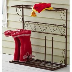 cheaper boot dryer.. for in front of woodstove