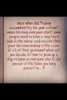 77 Best Self-responsibility images | No response, Me ...