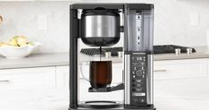 The Ninja Coffee Bar is on sale for off at Walmart Single Cup Coffee Maker, Coffee Maker Machine, Best Coffee Maker, Drip Coffee Maker, Coffee Shop, Coffee Brewer, Coffee Cups, Ninja Coffee, Coffee Reading