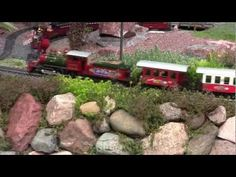 Outdoor Model Train Garden Landscaped with Succulent Plants | Simply Succulents®