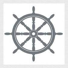 Ship's Wheel Stencil - for purch | Printables | Pinterest ...