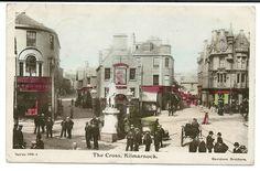 "Est Early 1900s -  Vintage Photo Postcard - ""The Cross, Kilmarnock"" Scotland"
