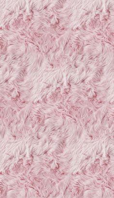 Fuzzy pink lock screen