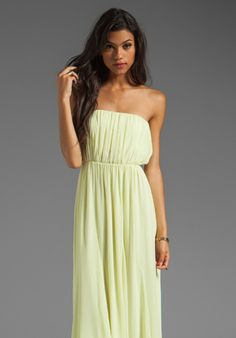 Maxi dress knot the bottom chase
