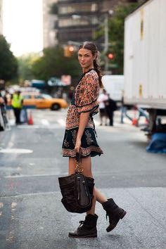 NY Fashion Week, Karlie Kloss (Vanessa Jackman)