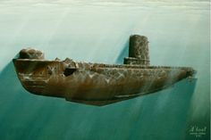A Class Submarine. ~ BFD