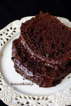 Easy Bread Recipes, Fun Easy Recipes, Cake Recipes, Dessert Recipes, Polish Desserts, Polish Recipes, Healthy Cake, Healthy Sweets, Cute Desserts