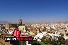 Málaga. Grupo Actialia ofrece sus servicios en Málaga: Diseño web, Diseño gráfico, Imprenta y Rotulación.  www.grupoactialia.com