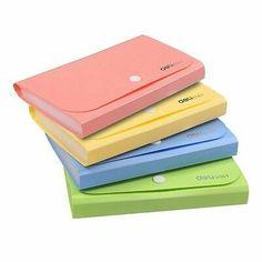 Candy Colors Document Folders School Supplies Organizer Organ Bag Expanding File Folder For Documents School Office Binder. College Supplies, Cool School Supplies, Folder Organization, School Supplies Organization, Folder Holder, Document Folder, Barbie, School Accessories, Cute Notebooks