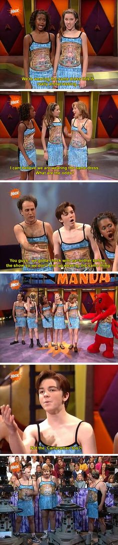 Ohhhh the Amanda show.... Amanda-manda-manda shoooow! Admit it, the theme came to your head once you remembered...