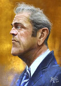 Mel Gibson por Tivo Aguilar                                                                                                                                                                                 Más