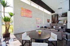 neo modern house design open interior concept