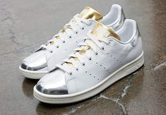 adidas Catches Our Attention Again With Snakeskin, Silver, and Gold