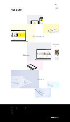 PRESENT – Branding & Design http://presnt.jp/