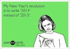 2014 Resolution snarky me