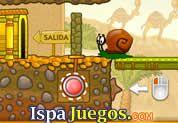 Juego de Snail Bob 3 | JUEGOS GRATIS: Una aventura mas de Bob, donde un portal lo ha absorbido y lo a enviado en unas grandes pirámides, y ahora tendrá que regresar a casa con su Abuelo, ayudarlo a mover los obstáculos y poder llegar a la salida en cada nivel, al final ten cuidado de la momia http://www.ispajuegos.com/jugar6673-Snail-Bob-3.html