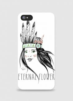 Iphone case Aiyanna  by Terence on Triaaangles