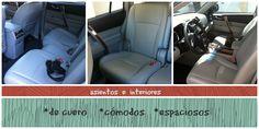 Toyota Highlander asientos e interiores @Toyota USA