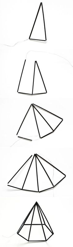 nice DIY Himmeli Geometric Gem Decor