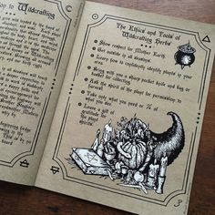 The Hedge Witch's Herbal Grimoire is a collaborative creation written by Alison Garber of Native Apothecary and illustrated &designed by artist Adrienne Ro
