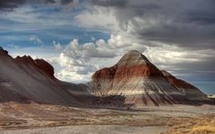 Painted Desert    Arizona Painted Desert    By Patrick Houlihan ::  Tepees Area | Petrified Forest National Park