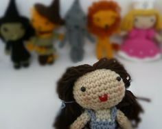 Free pattern - Dorothy from Wizard of Oz