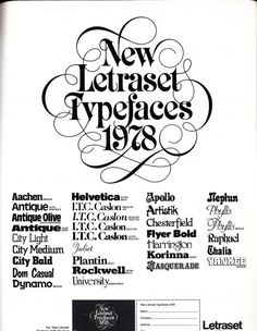 Vintage Fonts: 35 Adverts From the Past