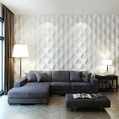 Stunning white wall panels to grace the living room – Идеи для дома – Wall Panel Living Spaces, Home Decor, House Interior, Living Room Wall, Room Decor, White Wall Paneling, Interior Design, Wall Paneling, Beautiful Living Rooms Decor