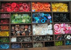 Printers Tray -- great for color coordinating accessories in my craft room!