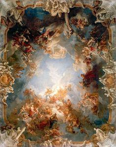 """Франсуа Лемуан """"Апофеоз Геркулеса"""" 1731-1735"""