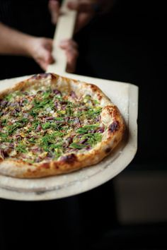 Six-Onion Pizza   This sweet and savory pizza showcases the flavor of six kinds of onion.   Super Bowl Party Recipes
