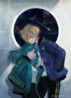 """Уран и Нептун (""""сейлор мун"""")"""