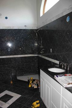 blue pearl granite vanity top not sure i like dark cabinets with