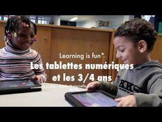 """Les tablettes numériques et les 3/4 ans - """"Learning is fun"""". Autres témoignages d'utilisation d'ipad en classe de maternelle."""