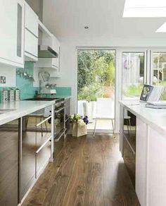 Small Galley Kitchen Layout long narrow kitchen design | galley kitchen designs, if i had a