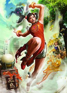 Tekken / Ling Xiaoyu