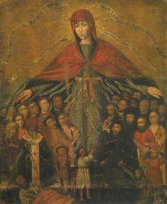 Покрова. Ікона XVII ст.