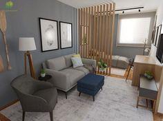 Small Studio Apartment Design, Tiny Studio Apartments, Small Apartment Interior, Flat Interior, Studio Apartment Decorating, Interior Design, Living Room And Bedroom Combo, Deco Studio, Dream Decor