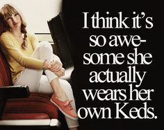 Lol! Still saving up to buy her RED ones! Jeez, they're expensive!