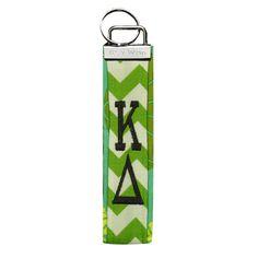 Campus Classics - Kappa Delta Wristlet Key Fob, $15.95 (http://www.campus-classics.com/kappa-delta-wristlet-key-fob/)