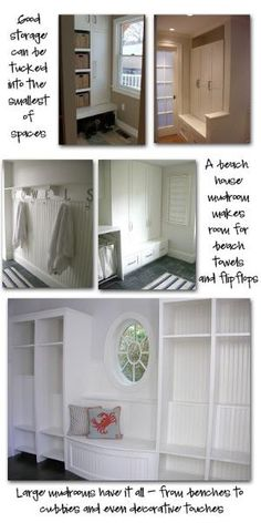 Mudroom Ideas by phyllis