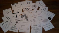 Baby-Meilensteinkarten von Motschico #Motschico #Baby #Geschenk #Geburt #Meilensteinkarten