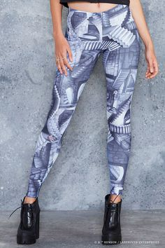 Within You MF Leggings ($85AUD) by BlackMilk Clothing