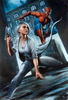 Marvel's Spider-Man - Silver Lining DLC Artwork by Adi Granov Marvel Comics, Comics Anime, Marvel Avengers, Poster Marvel, Marvel Wallpaper, Mobile Wallpaper, Amazing Spiderman, Spider Verse, Marvel Characters