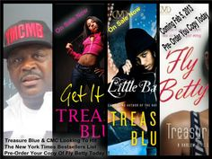 "Cash Money Content bestselling Author Treasure Blue Bring The Streets A Brand New Classic. Get That ""Fly Betty"" On Feb. 5, 2013 @ Amazon.Com"