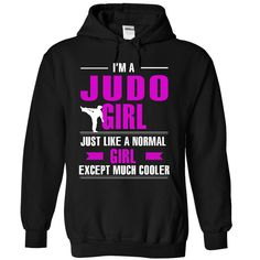 Judo girl is cooler