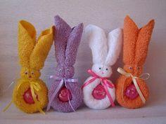 Cómo hacer conejos con toallas