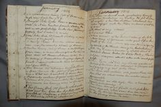 200 year old diary has been digitized and made available online © Stirling Council Archive