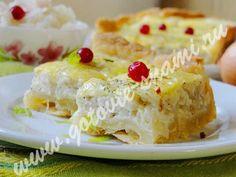 Сливочный луковый пирог | Готовьте с нами