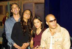 Fast and Furious Crew  Paul Walker  Jordana Brewster Michelle Rodriguez Vin Diesel